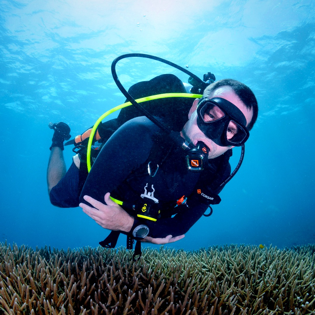 Underwater Scuba Diving with Submerged Nation